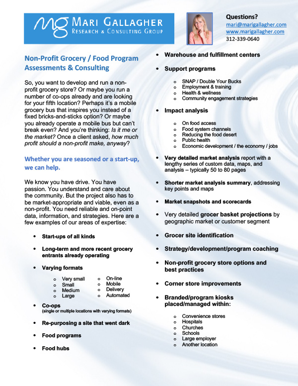 Non-profit-Grocer-Food-Assessments