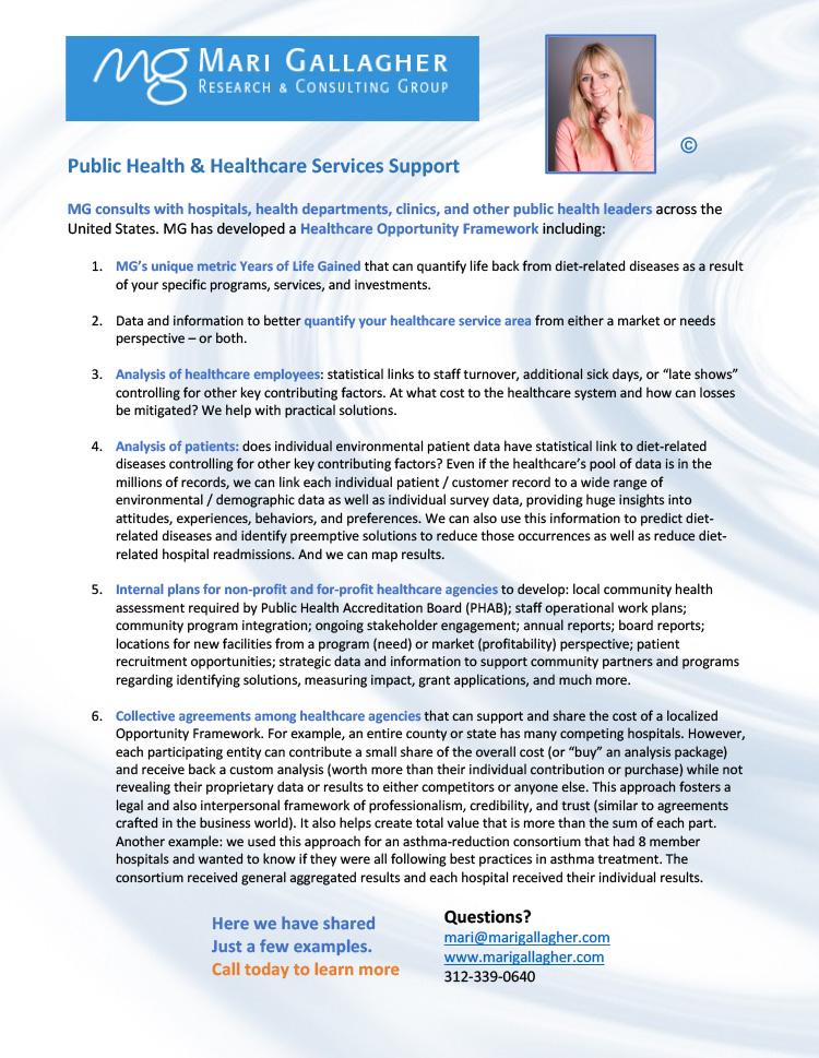 Public Healh Assessments